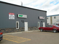 SHOP SPACE AND FENCED YARD IN SYLVAN LAKE