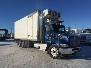 Kenworth T370 reefer 26 pieds tailgate