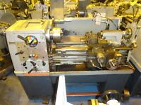 COLCHESTER STUDENT 1800 GAP BED CENTRE LATHE TAPER TURNING