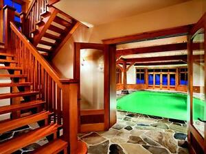 ✅•●•Gorgeous Mont-Tremblant Mansion Short-Term Rental☀✶☀✶☀✶