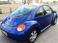 VOLKSWAGEN BEETLE 1.6 LUNA 8V 3d 101 BHP HEATED SEATS, REAR SENSORS! (blue) 2007