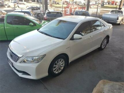 2013 Toyota Aurion White Sports Automatic Sedan Lansvale Liverpool Area Preview