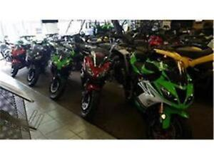 000% RATES ON KAWASKI NINJA AND TOURING300 650 800 636 IN STOCK