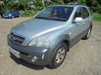 Kia Sorento 2.5 CRDi XS Auto (silver) 2003