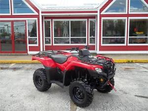 2015 HONDA FOURTRAX WITH POWER STEERING