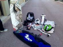 Complete Kiteboarding Setup (2 kites, board and gear) Butler Wanneroo Area Preview