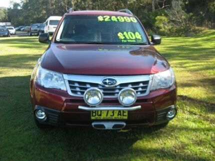 2012 Subaru Forester S3 MY12 X AWD Burgundy 4 Speed Sports Automatic Wagon Wyoming Gosford Area Preview
