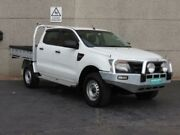 2013 Ford Ranger PX XL 3.2 (4x4) White 6 Speed Automatic Dual Cab Chassis Revesby Bankstown Area Preview