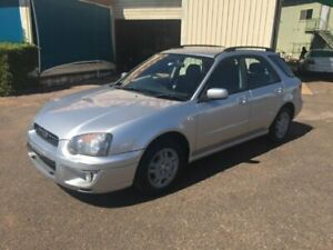 2003 Subaru Impreza MY03 GX (AWD) Silver 5 Speed Manual Hatchback Berrimah Darwin City Preview