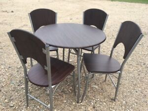 Basic JYSK table and chairs - good for someone starting out