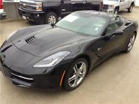 NEW 2016 Chevrolet Corvette 1LT BLACK on BLACK coupe automatic