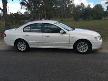 2004 Ford Falcon BA Futura White 4 Speed Auto Seq Sportshift Sedan Salisbury Brisbane South West Preview