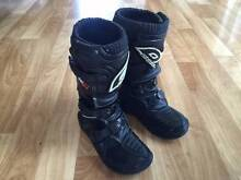 Kids MX Boots O'Neal Size 1 Balhannah Adelaide Hills Preview