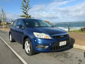 2010 Ford Focus LV LX Blue 4 Speed Sports Automatic Hatchback Christies Beach Morphett Vale Area Preview