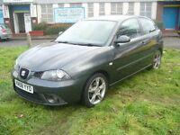 Seat Ibiza 1.4 Sportrider 3dr (grey) 2008