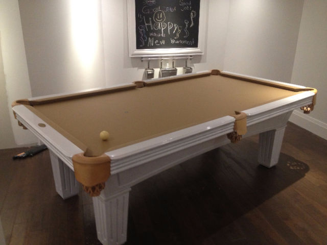 Pool Table Recloth Recover Install Dismantle Service Other - Dismantle pool table