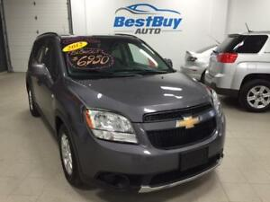 2012 CHEVROLET ORLANDO LT_7 PASSENGER_Warranty Included