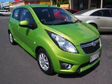 2013 Holden Barina Spark MJ MY13 CD Green 5 Speed Manual Hatchback Westcourt Cairns City Preview