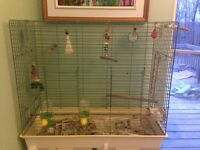 LARGE BIRD CAGE- GREAT PRICE $120 OBO