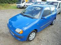 Fiat Seicento 1.1 sx LEFT HAND DRIVE, LOW MILES (blue) 2003