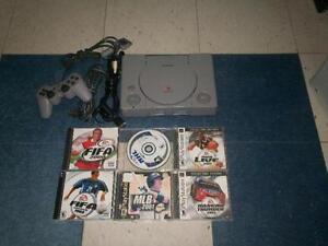 Playstation 1 avec 6 jeu