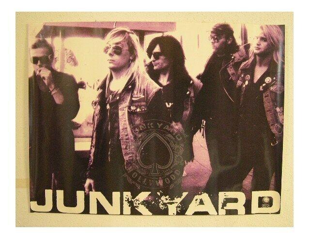 Junkyard Poster Band Shot Hollywood Promo