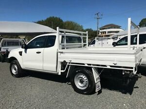 2013 Ford Ranger PX XL 3.2 (4x4) White 6 Speed Manual Super C/Chas