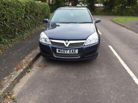 Vauxhall Astra 1.8 Auto Life 07 plate