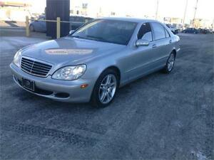 2005 Mercedes-Benz S-Class NOTHING BUT CLASS!GET FINANCING TODAY