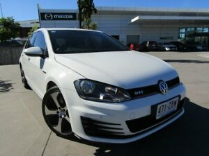 2015 Volkswagen Golf VII MY15 GTI DSG White 6 Speed Sports Automatic Dual Clutch Hatchback Maroochydore Maroochydore Area Preview