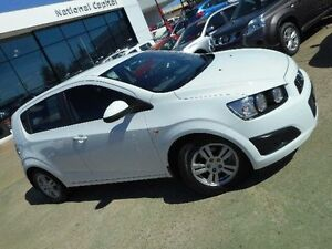 2012 Holden Barina TM White 6 Speed Automatic Hatchback Belconnen Belconnen Area Preview