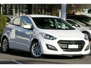 2017 Hyundai i30 GD4 Series II MY17 Active White 6 Speed Sports Automatic Hatchback Christies Beach Morphett Vale Area Preview
