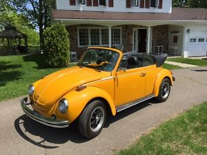 1978 Volkswagon (VW) Convertible Beetle For Sale