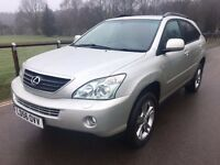 2006 Lexus RX 400 H Hybrid electric 4x4 very cheap to run