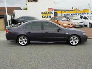 2005 Ford Falcon BA Mk II XR6 Turbo Purple 4 Speed Automatic Sedan