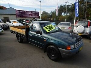 2000 Ford Courier PE GL Green 5 Speed Manual Cab Chassis Waratah Newcastle Area Preview