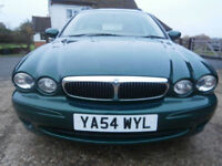 0454 JAGUAR X-TYPE 2.5 V6 4X4 CLASSIC RARE MANUAL MODEL TOURING/ESTATE 85K FSH.