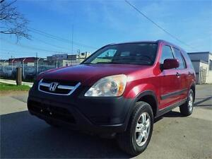 SOLD!!! HONDA CR-V EX 4WD! LOW KM! CERTIFIED!