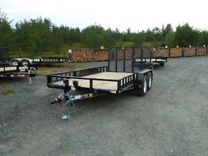 (new) P.J. Utility Trailers 14' & 16' & 18'