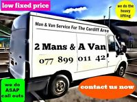 2 Mans & A Van - BARGAIN REMOVALS & MAN & VAN SERVICE FOR CARDIFF AREA