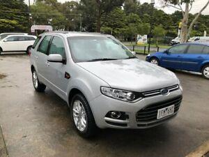 2014 Ford Territory SZ TX Seq Sport Shift Silver 6 Speed Sports Automatic Wagon Croydon Maroondah Area Preview