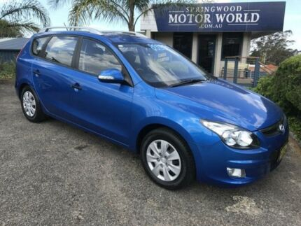 2012 Hyundai i30 CW SX Blue 4 Speed Automatic Sportswagon