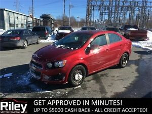2012 Chevrolet Sonic LS STARTING AT $85.19 BI-WEEKLY