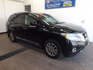 2013 Nissan Pathfinder SL 4WD  LEATHER SUNROOF 7 PASS
