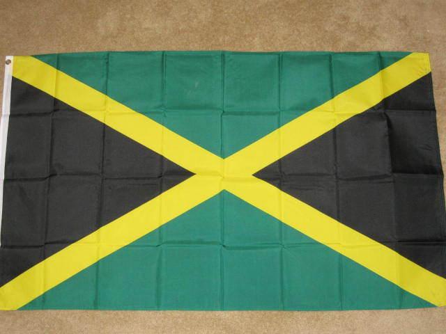 JAMAICA FLAG 2X3 JAMAICAN FLAGS 2