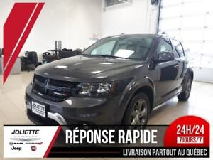 2017 Dodge Journey Crossroad, V6, AWD, DVD, CUIR, TOIT, NAV, CAM