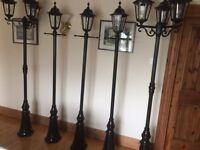 House lamp-posts
