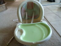 Reclining, Portable Baby High Chair