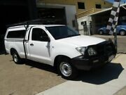 2008 Toyota Hilux GGN15R MY08 SR 4x2 White 5 Speed Automatic Utility Moorooka Brisbane South West Preview
