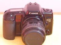 Canon EOS 10 Camera and lens